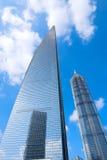 SWFC e Jin Mao Tower Fotografia Stock