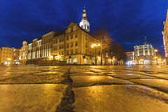 Free Swidnica City Hall Stock Photography - 181961822