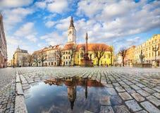 Free Swidnica, Poland. Panorama Of Market Square Rynek Stock Photos - 216848153