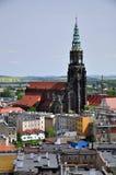 Swidnica-Stadt lizenzfreies stockfoto