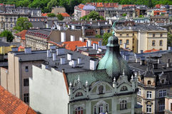 Swidnica-Stadt lizenzfreie stockbilder