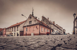 Swiebodzice gammal stad Royaltyfri Foto