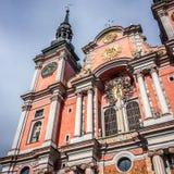 Swieta Lipka kyrka i Polen Royaltyfria Bilder