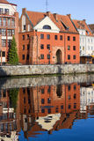 Swietojanska Gate in Gdansk Stock Photography