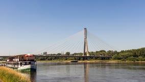 Swietokrzyski桥梁 库存照片