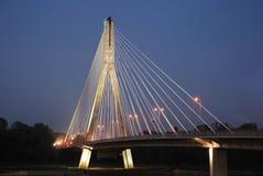 Swietokrzyski Brücke Lizenzfreies Stockbild