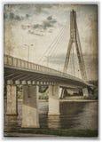 Swietokrzyski bridge Royalty Free Stock Photo