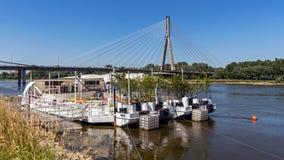 The Swietokrzyski Bridge Stock Images