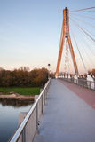 Swietokrzyski Bridge in Warsaw Stock Photography