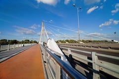 Swietokrzyski Bridge in Warsaw, Poland Stock Photos