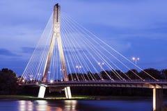 Swietokrzyski Bridge - Warsaw, Poland Stock Photos