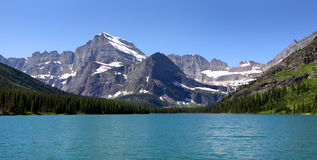 Swift current lake Royalty Free Stock Photography