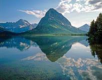 Swift Current Lake, Montana Stock Image
