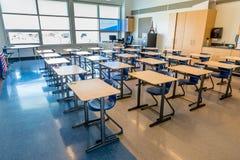 Free Swift Current, SK- September 2, 2019: Interior Of Bright, Empty School Classroom: Back To School Concept, Coronavirus Concept Royalty Free Stock Photos - 177661368