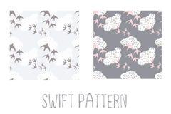 Swift pattern Stock Photos