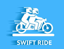 Swift ride Royalty Free Stock Image
