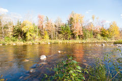 Swift River, Maine. Royalty Free Stock Image