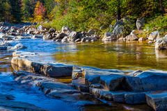 Swift River - Two Royalty Free Stock Photos