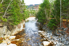 Swift River in White Mountain National Forest Stock Photos
