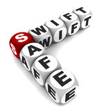 Swift and safe Royalty Free Stock Images