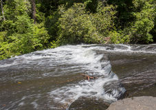 Swift Water Current Stock Image