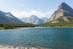 Swiftcurrent jezioro Obraz Stock