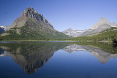 Swiftcurrent Lake Stock Photos