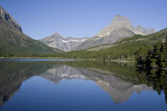 Swiftcurrent Lake Royalty Free Stock Photos