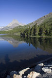 Swiftcurrent Lake Stock Image