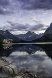 Swiftcurrent Lake Stock Image