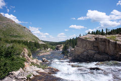 Swiftcurrent River Royalty Free Stock Image