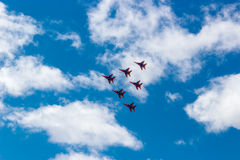 Swifts авиасалона Стоковая Фотография RF