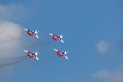 Swifts (Strizhi), Draufsicht Stockfoto