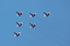 Swifts (Strizhi), top view Royalty Free Stock Photography