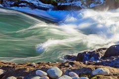 Swiftwater στο whitewater στοκ φωτογραφίες