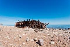 Swiks på kusten av Ã-land i Sverige Fotografering för Bildbyråer
