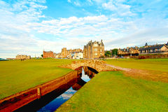 Swilcan Bridge, St Andrews Royalty Free Stock Images