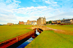 Swilcan Bridge, St Andrews Royalty Free Stock Photos