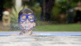 swim выплеска стоковые изображения