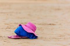 Swim на пляже Стоковые Изображения RF