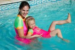 swim урока Стоковые Изображения