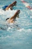 Swim für es Stockbild