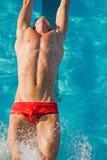 Swim Finals Stock Photography