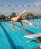 Swim Finals Royalty Free Stock Photos