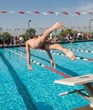 Swim Finals Royalty Free Stock Photos