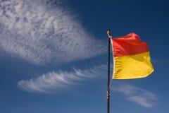 Swim between flags Stock Image