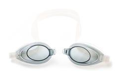 Swim goggles isolated on white background Royalty Free Stock Image