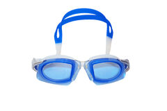 Swim Goggles. Swimming goggles or swim glasses for water sports concept, isolated on a white background Stock Photos