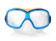 Swim goggles on white background. Beach object Stock Image