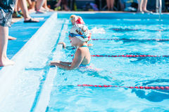 Swim meet Stock Photos